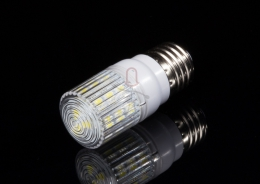 LED Birne E27 mit 24 SMD LED, warmwei�