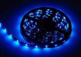 LED Stripe 3-Chip blau mit 30 LEDs/m -5 Meter-
