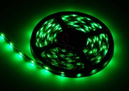 LED Stripe 3-Chip gr�n mit 30 LEDs/m -5 Meter-