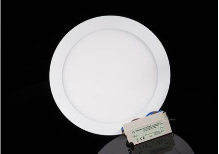 dimmbares LED Panel weisser Rahmen 22,5*22,5 cm weiss