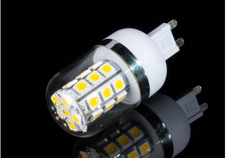 LED Strahler G9 mit 27 5050 SMD LEDs, weiss
