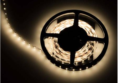 LED Streifen 3528 SMD warmweiss mit 60 LEDs/m -5 Meter-