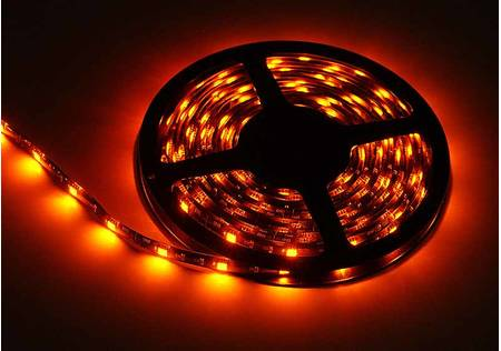 LED Stripe 3-Chip orange mit 30 LEDs/m -Meterware-