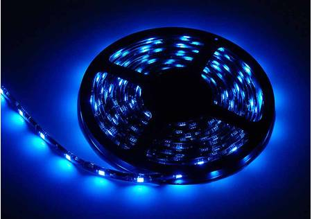 LED Stripe 3-Chip blau mit 30 LEDs/m -Meterware-