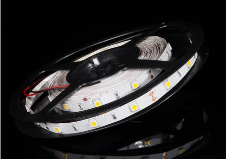 LED Stripe 3-Chip warmweiss mit 30 LEDs/m -5 Meter-