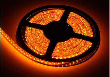 LED Streifen outdoor 3528 SMD orange mit 120 LEDs/m -5 Meter-