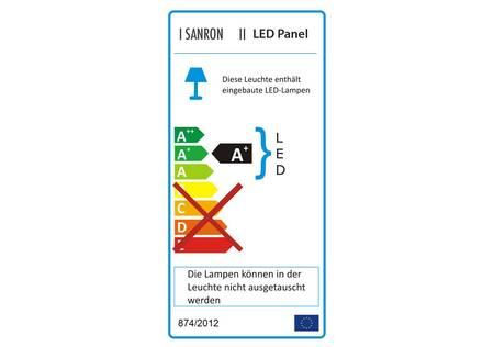 LED Panel 62*62 cm warmweiss dimmbar
